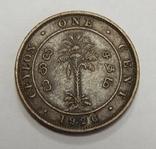 1 цент, 1926 г Цейлон, фото №2