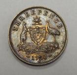 3 пенса, 1920 г Австралия, фото №2