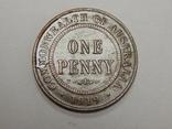 1 пенни, 1919 г Австралия, фото №2