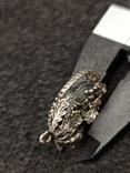 Кулон подвеска белка серебро 835 винтаж, фото №7