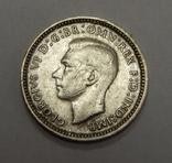 3 пенса, 1943 г Австралия, фото №3