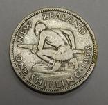 1 шиллинг, 1933 г Новая Зеландия, фото №2