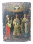 Икона Покров большая 32 х 43 см, фото №2