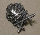 Дубовые листья с мечами к рыцарскому кресту (копия), фото №2