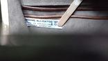 Сумочка винтажная коллекционная Lopez из кожи аллигатора Аргентина, фото №5