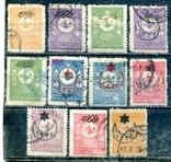Турція. надруки на стандартах 1901, фото №2
