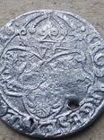 Шестак(шесть грошей) 1626 года серебро, фото №4