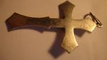 Серебро 925 крест, фото №3