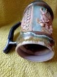 Кружка пивная львовская керамика ЛКСФ, авторская - Пінас, 1983, фото №9
