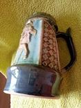 Кружка пивная львовская керамика ЛКСФ, авторская - Пінас, 1983, фото №11