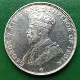 Стрейтс Сетелмент 1/2 доллар 1921 г., фото №3