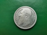 2 франка 1909г.БельгияDER, фото №3