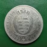 Саксония 2/3 таллера 1813 г., фото №3
