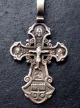 Старый серебренный крестик, фото №6