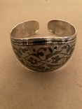 Браслет Кубачи серебро 37.7 гр, фото №2
