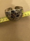 Браслет Кубачи серебро 37.7 гр, фото №5