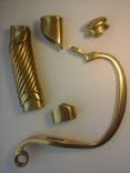Комплект на Георгиевскую шашку (золотое оружие) из 5 частей., фото №4