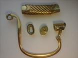 Комплект на Георгиевскую шашку (золотое оружие) из 5 частей., фото №5