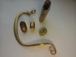 Комплект на Георгиевскую шашку (золотое оружие) из 5 частей., фото №6