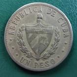 1 песо Куба 1984 г., фото №3