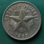 1 песо Куба 1987 г., фото №2