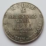 Германия. NSDAP К выборам в Рейхстаг в 1932 году. Копия, фото №3