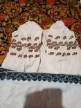 Сорочка полотняна вишета хрестиком, фото №2