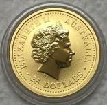 25 долларов 2007 года. Год Свиньи. 1/4 oz, фото №3