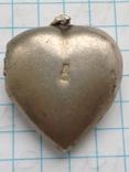 Женский кулон с камнем серебро 875, фото №3