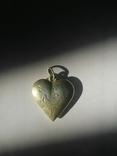 Кулон сердце, фото №3
