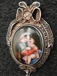 Медальон серебро филигрань 19 век, фото №8