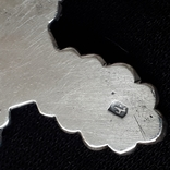 Эмалевый крест с гранатовым камнем, фото №7