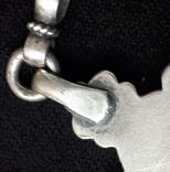 Эмалевый крест с гранатовым камнем, фото №10