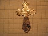 Крестик 84 проба, фото №2