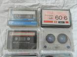 Магнитофонные кассеты.Разных брендов.Цена за 11 штук., фото №4