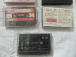 Магнитофонные кассеты.Разных брендов.Цена за 11 штук., фото №10