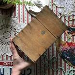Клетка переноска дерево деревянная ретро винтаж декор, фото №7
