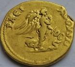 Ауреус Веспасіана, Римська імперія, 69-79 рр., золото, фото №5