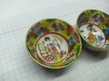 2 декоративные тарелки из фарфора. Диаметр 47мм, фото №4