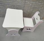 """Столик и стульчик """"Корона"""", фото №4"""