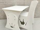 """Столик и стульчик """"Корона"""", фото №9"""