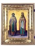 Икона Св. Григорий и Ольга, фото №2