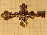Крест золото, фото №4