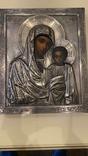 Икона Казанская Божья матерь Модерн, фото №5