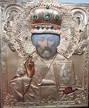Икона Св. Николай., фото №3