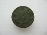 Деньга 1731 год,одна черта, фото №2