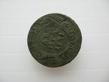 Деньга 1731 год,одна черта, фото №3