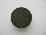 Деньга 1731 год,одна черта, фото №4