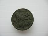 Деньга 1731 год,одна черта, фото №8