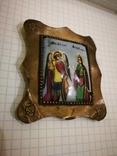 Икона миниатюрная, емаль, за реставрации, фото №3